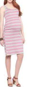 Liz Lange Tank Shirt Maternity Dress